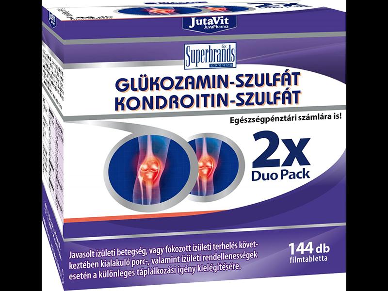 JutaVit Glükozamin+Kondroitin+MSM filmtabletta - Gyógyszerfutár
