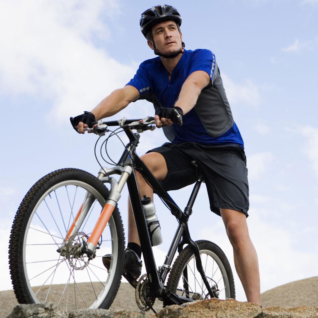 kerékpár a bokaízület artrózisával