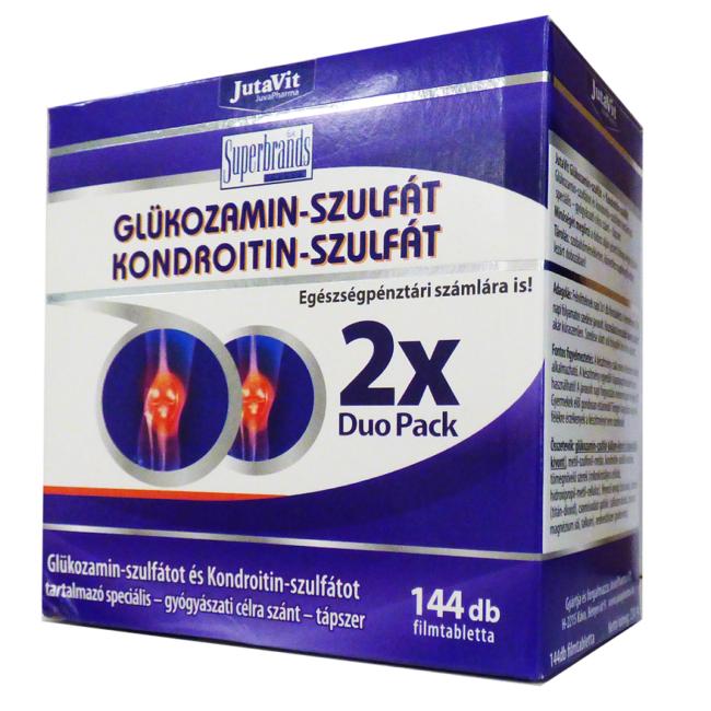 glükózamin és kondroitin az ízületek kezelésére