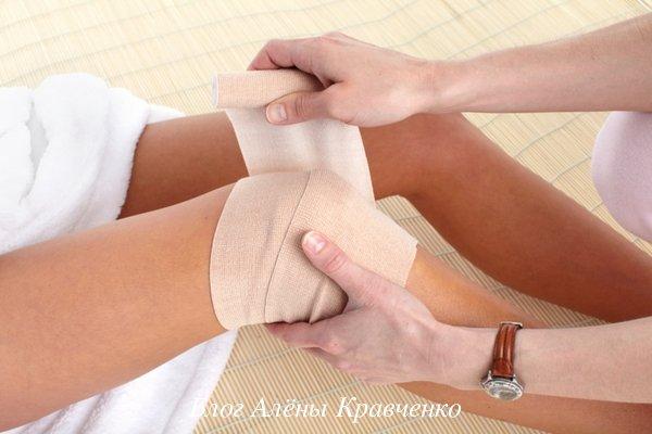 térdízületek fájnak, ha hajlítva a bokaízület éles duzzanata
