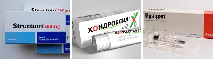 együttes gyógyszer kondroitinnal