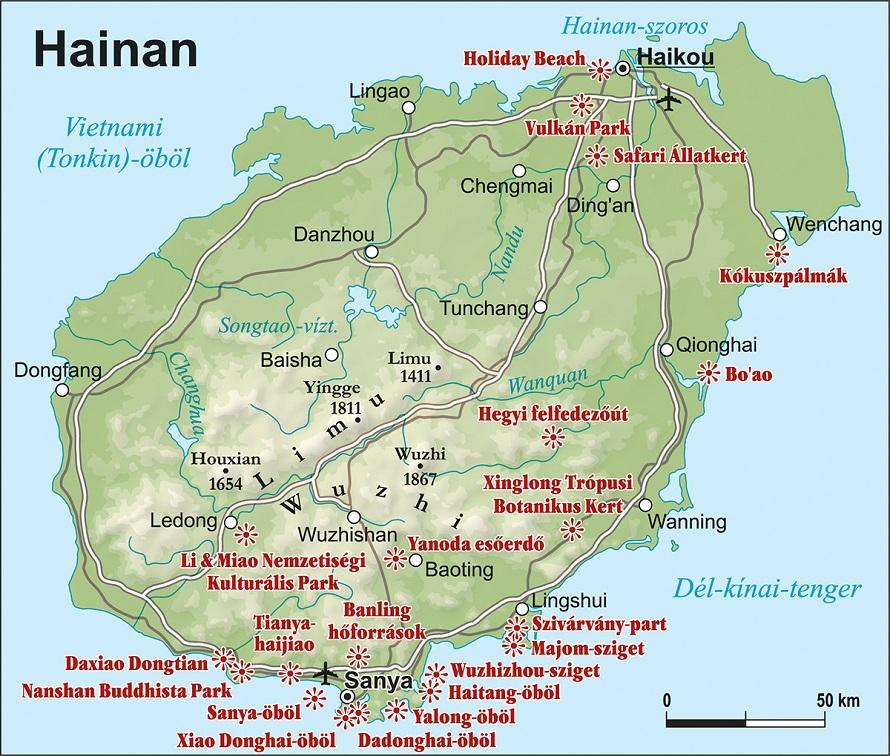 hainan-sziget együttes kezelése)