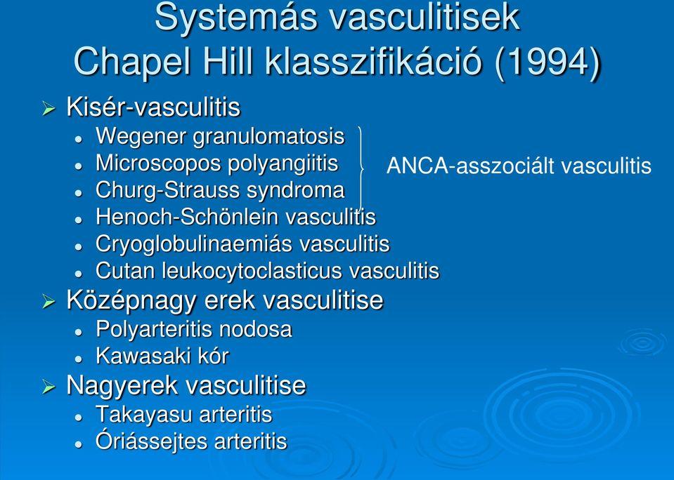 szisztémás kötőszöveti betegségek)