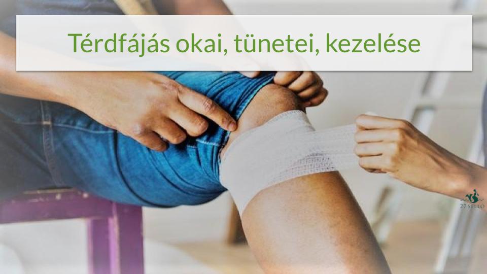fájdalom a térd sérülése után)
