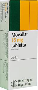 MOVALIS 15MG TABLETTA 20X