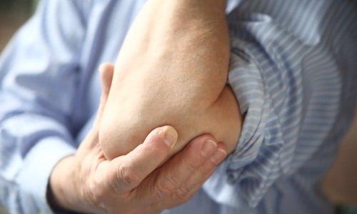hajlító fájdalom a bal könyökízületben