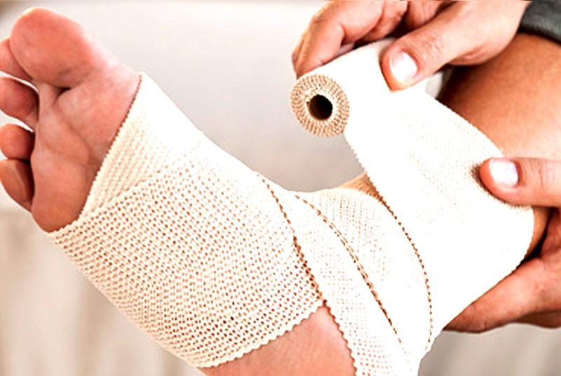 milyen kötést alkalmaznak, ha az ízület sérült