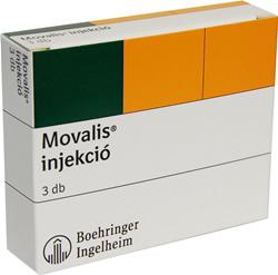 MOVALIS 15 mg tabletta - Gyógyszerkereső - Hábezenyeiskola.hu