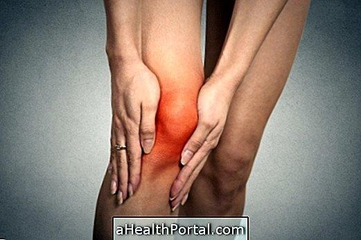 foci térd artrózisával)