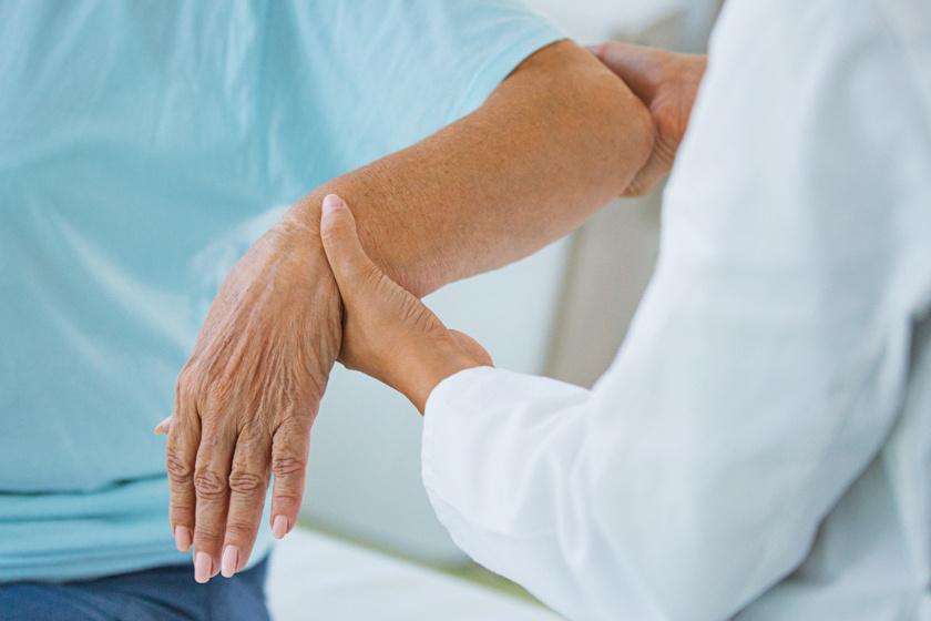 ízületi gyulladás a kezelt ujjakon