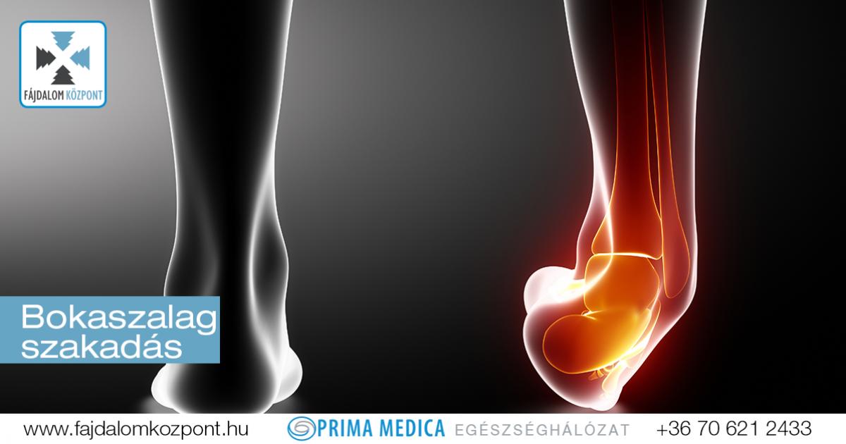 hogyan kell kezelni a bokaízületet sérülés után