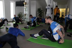 Jó hangulatban kezdődtek a közös edzések   Kaposvári Rákóczi FC