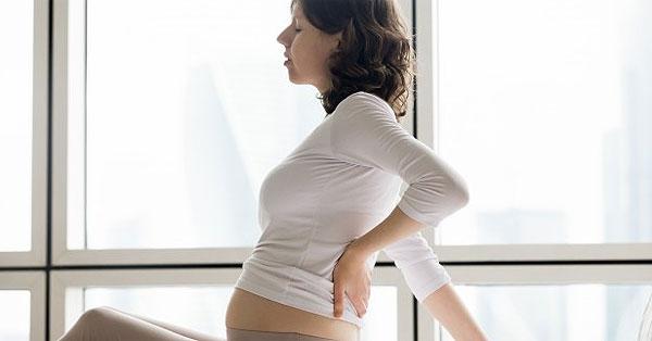 erős derékfájás terhesség végén