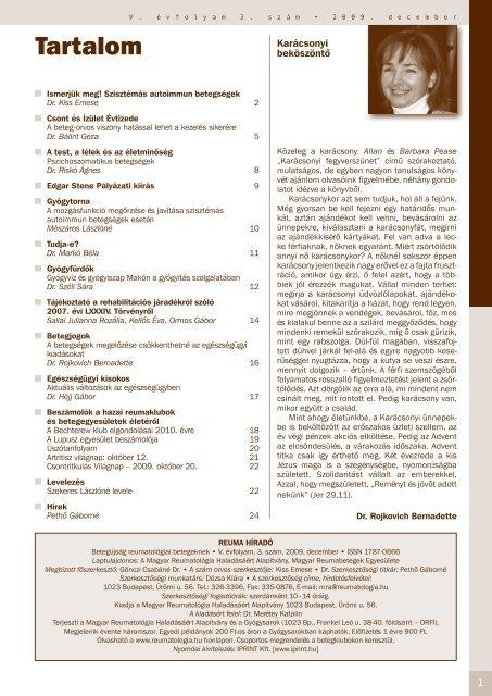 Az ízületi betegségek pszichoszomatikus háttere - Széna Tér Patika