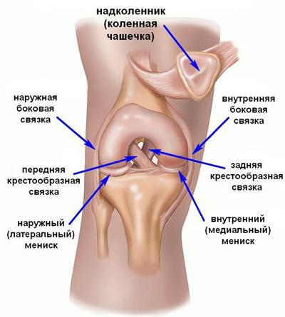 a térdízület lábának duzzanatában)