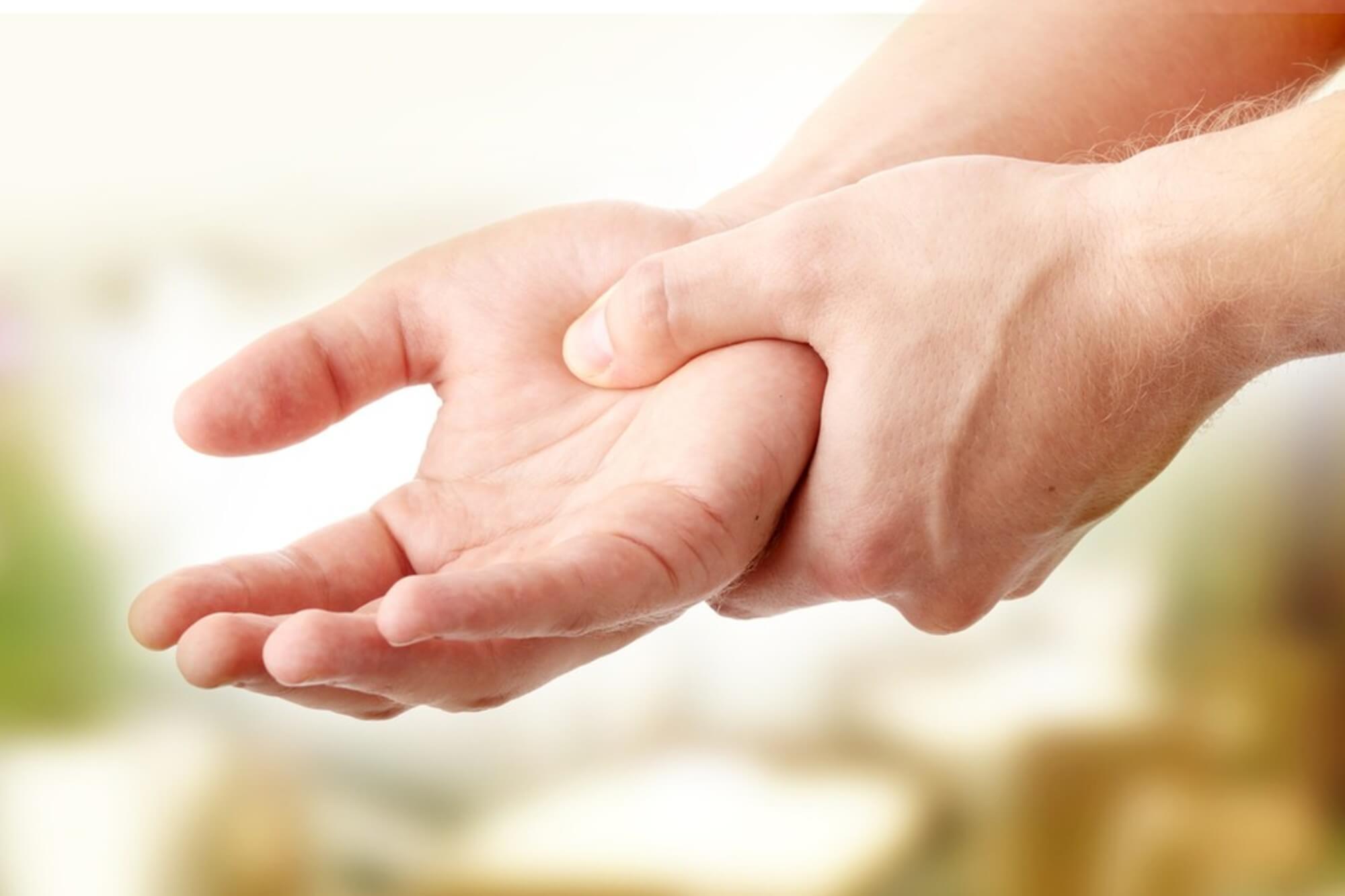 a kéz kisujja ízületének gyulladása