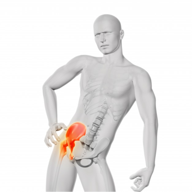 csípőfájdalom átjut a lábába