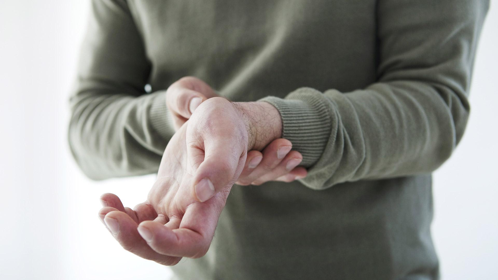 fájó csuklóízület-kezelés