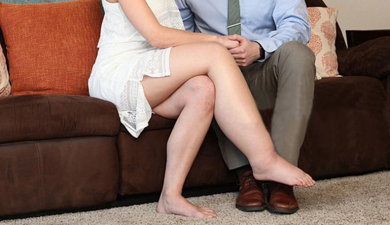 dagadt láb kezelése