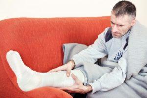 a bokaízület hirtelen fájdalma