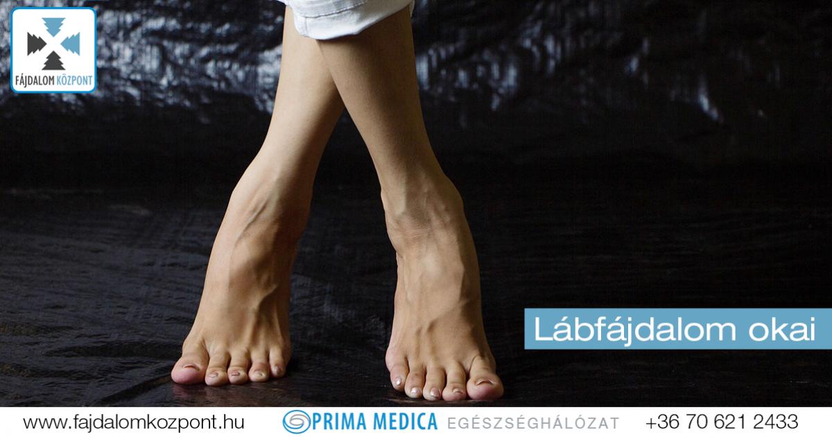 fájdalom a láb metatarsális ízületében)
