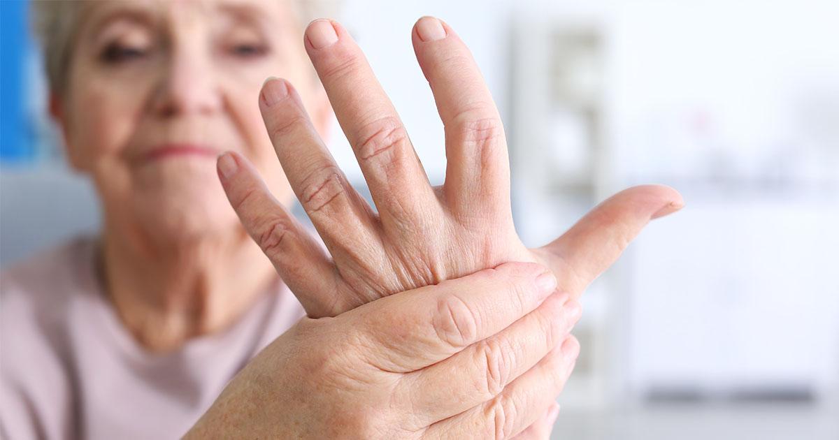 ízületi fájdalom az mutatóujj meghajlításakor