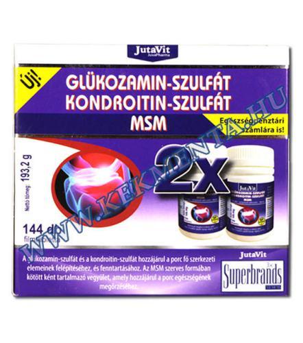 glükózamin és kondroitin összetétele