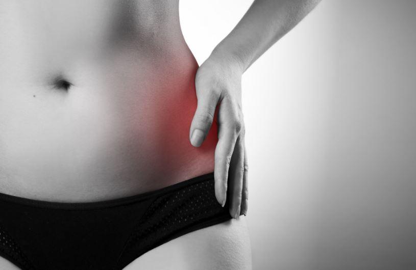 éles fájdalom a csípőízületben)