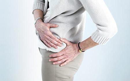 Tünetei a csípő ideg megcsípésének